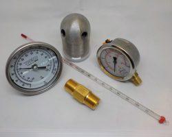Pressure / Temperature and Vacuum